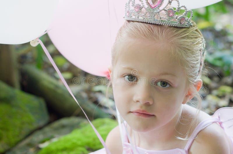 Mała dziewczynka jako baśniowy baletniczy princess zdjęcie royalty free