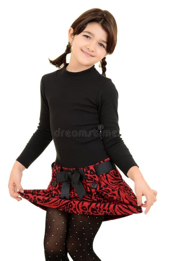 Mała dziewczynka jest śliczny obrazy stock