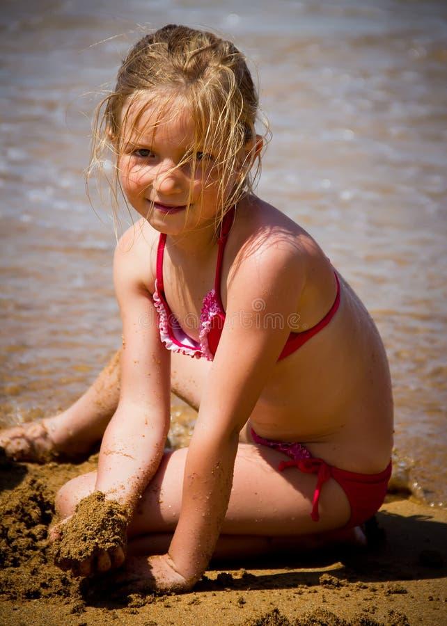 Mała dziewczynka portret obrazy stock