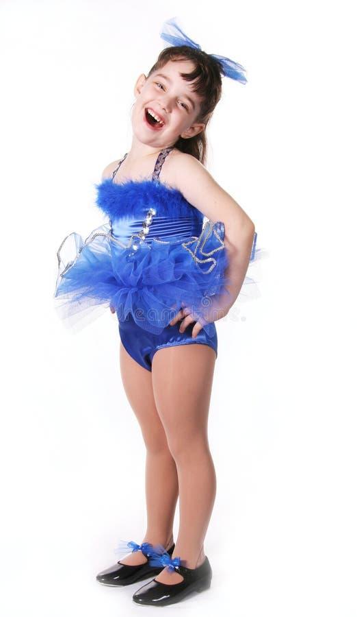 mała dziewczynka tancerzem. obrazy royalty free