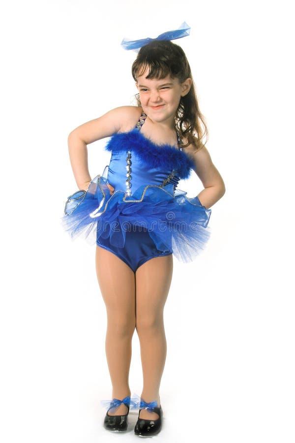 mała dziewczynka tancerzem. obrazy stock