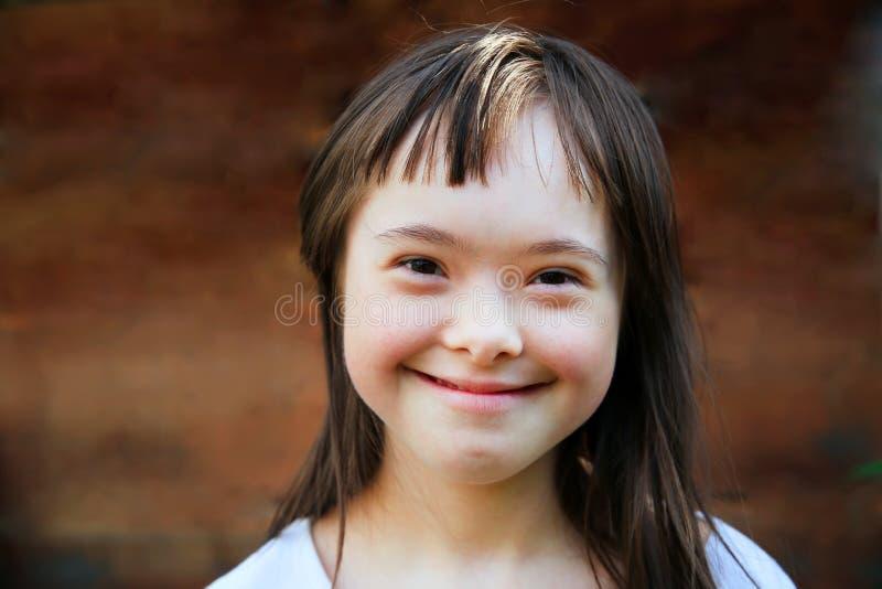 Mała dziewczynka zabawę zdjęcia royalty free