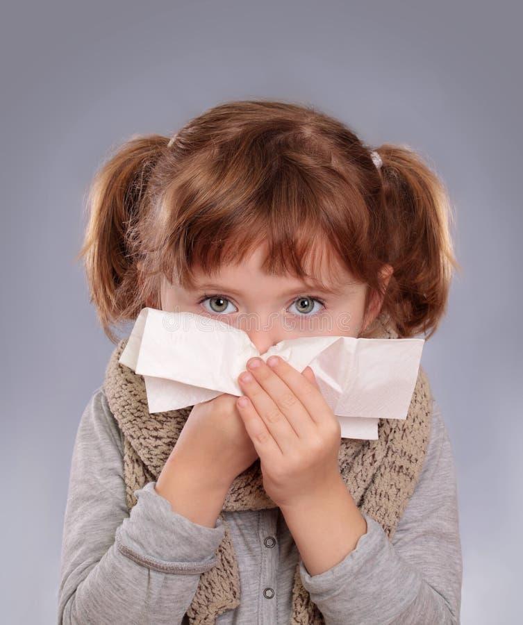 mała dziewczyny bolączka zdjęcia stock