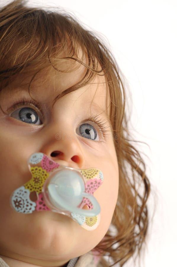 mała dziewczyny dójka obraz royalty free