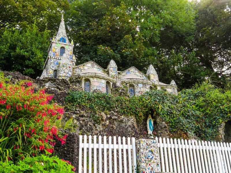 Mała kaplica, Guernsey wyspa zdjęcie royalty free