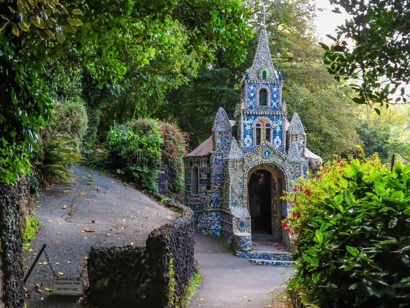 Mała kaplica, Guernsey wyspa, channel islands obraz royalty free