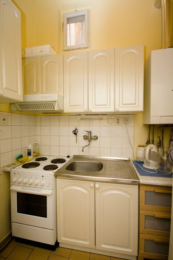 Mała kuchnia obraz royalty free