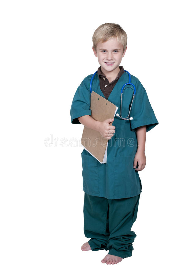 Mała lekarka obraz royalty free