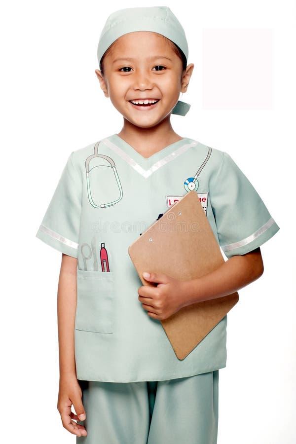 Mała lekarka fotografia stock