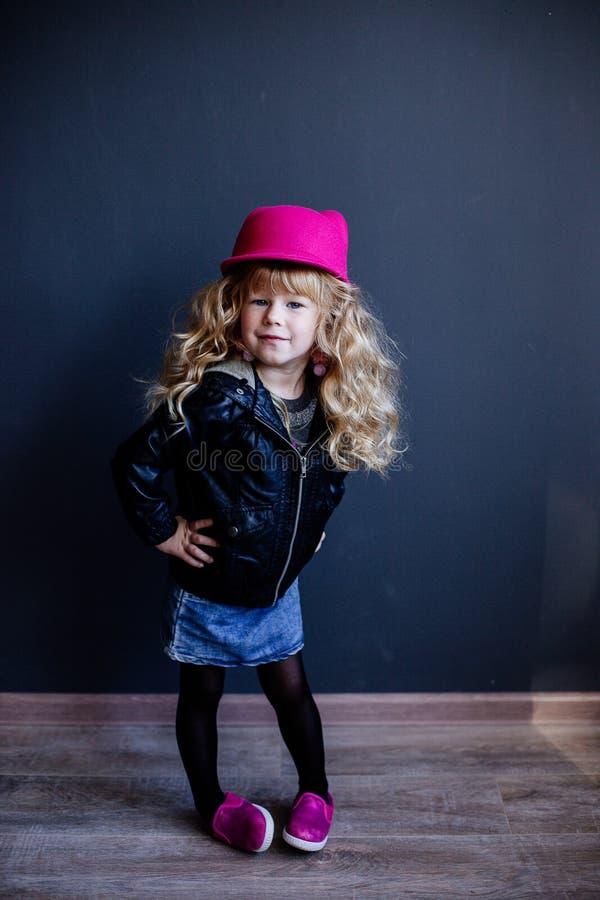mała mody dziewczyna fotografia royalty free