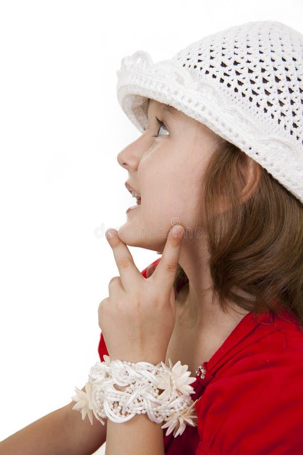 mała mody dziewczyna zdjęcia stock