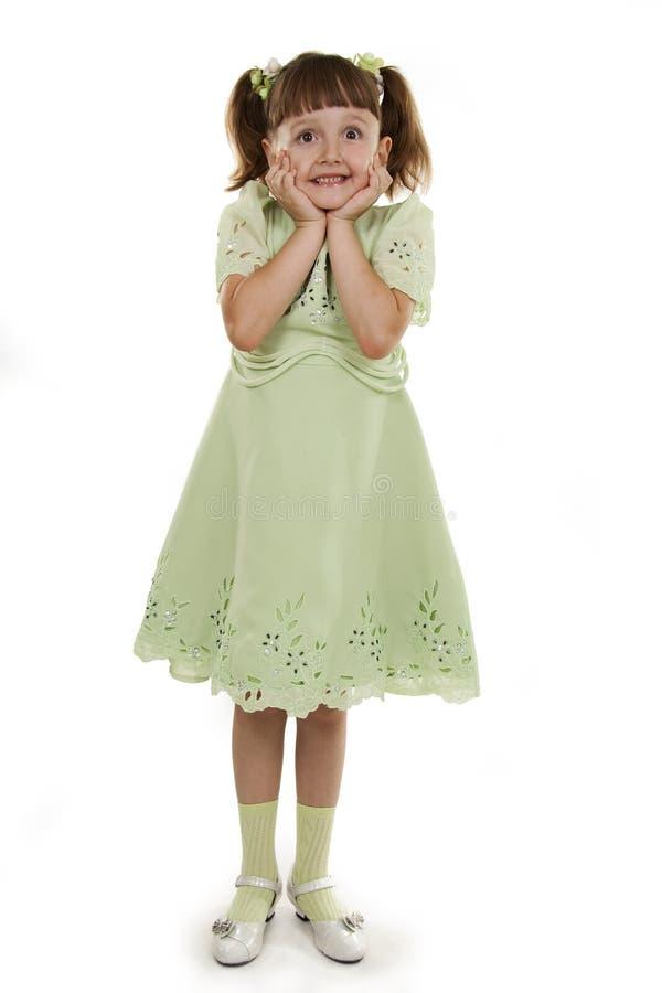 mała mody dziewczyna obraz royalty free