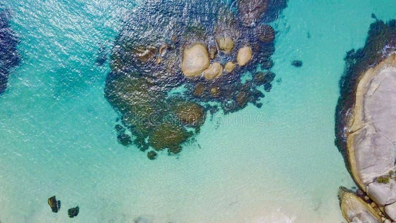 Mała plaża 2 zdjęcia royalty free