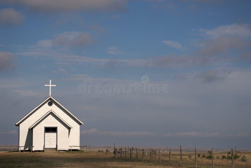 mała preria kościelna fotografia royalty free