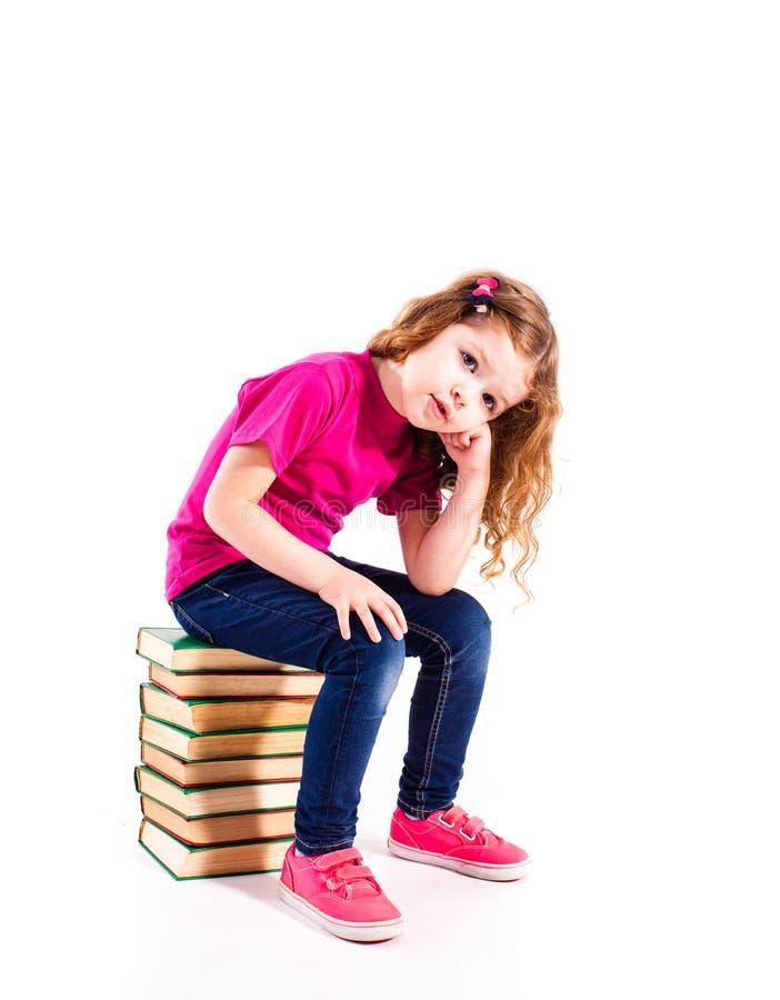 Mała preschhol dziewczyna fotografia stock