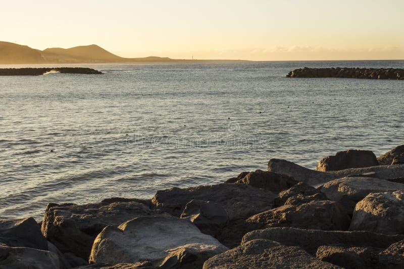 Mała pusta sztuczna zatoka zdjęcie royalty free