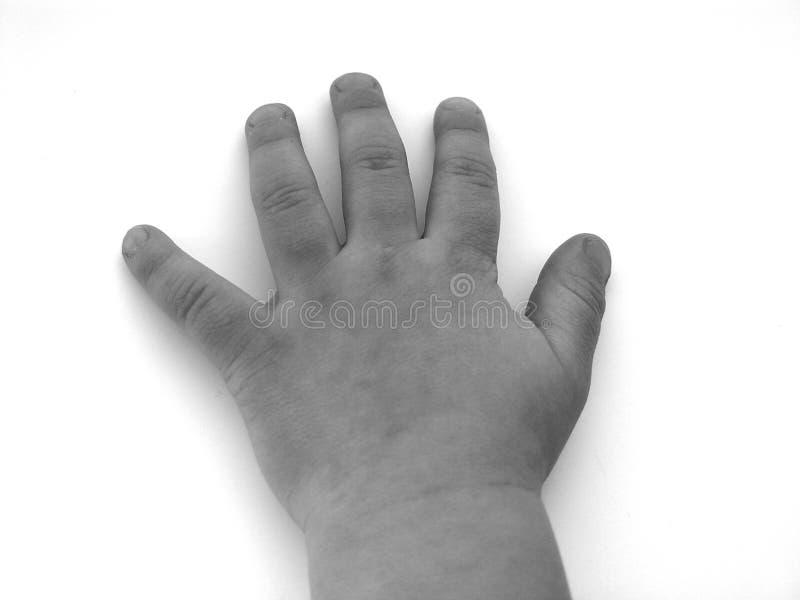 mała ręka zdjęcia stock