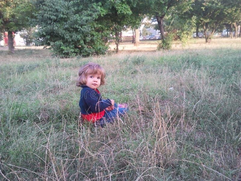 mała słodka dziewczynka fotografia stock