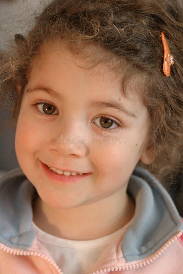 Mała Słodka Dziewczynka Zdjęcie Stock