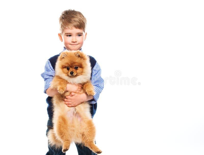 Mała szczęśliwa chłopiec zdjęcia stock