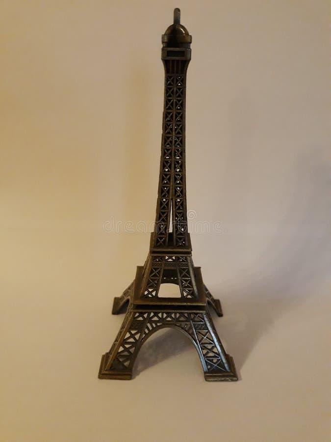 Mała wieża eifla dekorować wnętrze twój dom zdjęcia royalty free