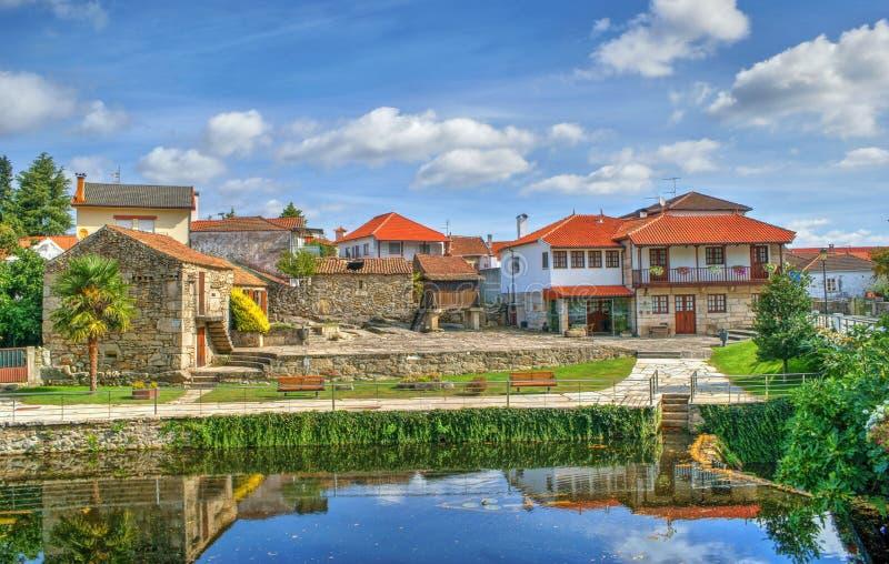Mała wioska Boticas fotografia stock