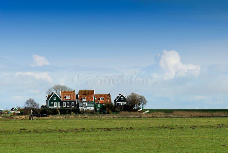 mała wioska niderlandzkiej zdjęcia stock