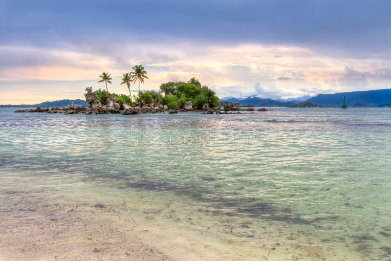 mała wyspa obraz stock
