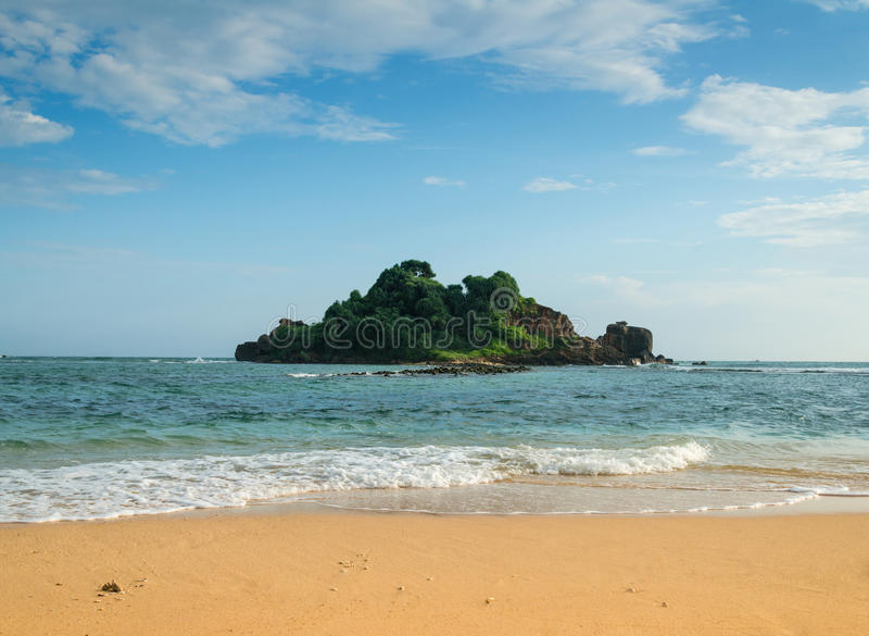 mała wyspa zdjęcie royalty free
