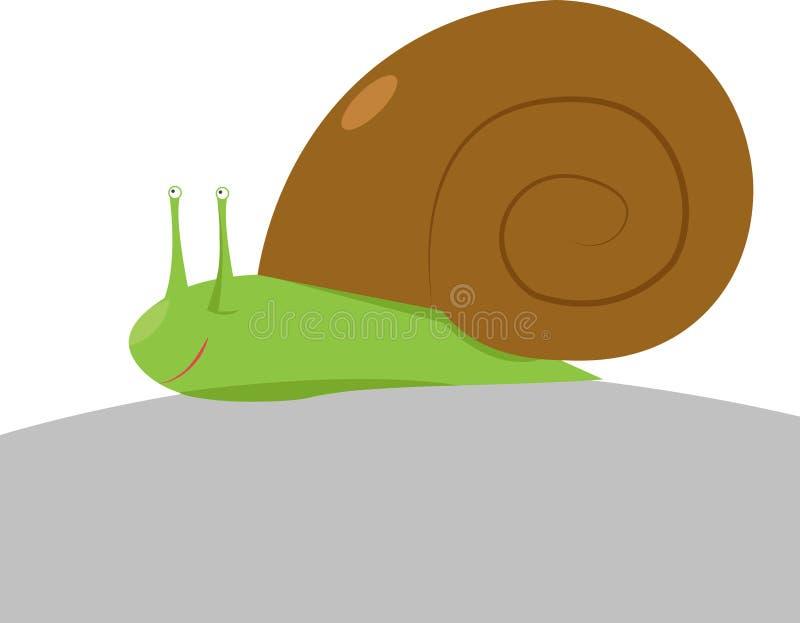 Małe ślimaki, ilustracja, wektor ilustracji