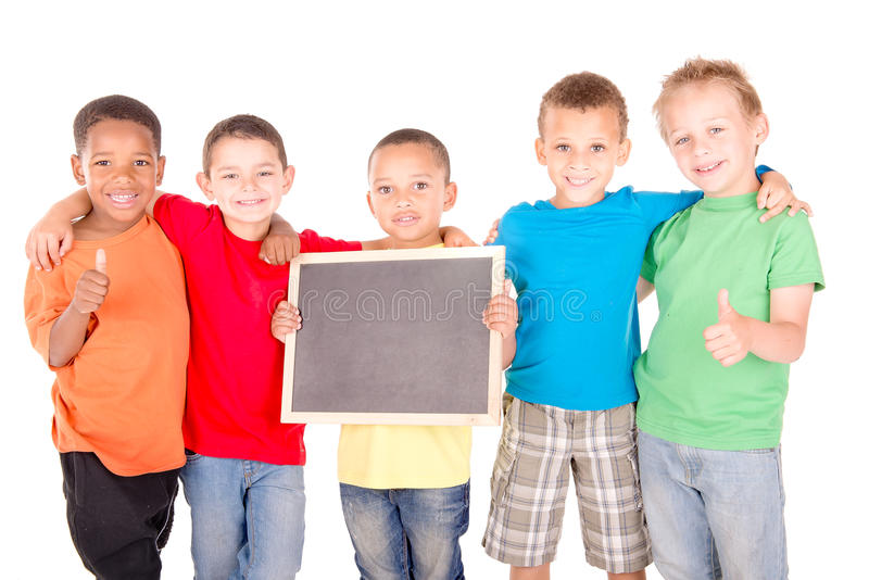 Małe dzieci obrazy royalty free