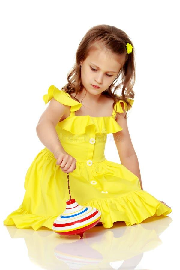 małe dziewczynki grać zdjęcia stock