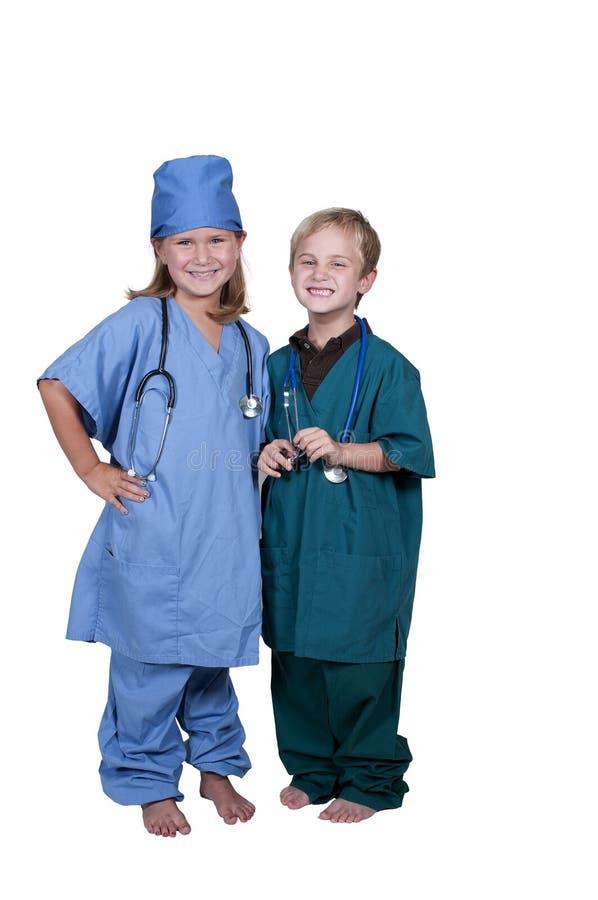 Małe lekarki zdjęcia royalty free