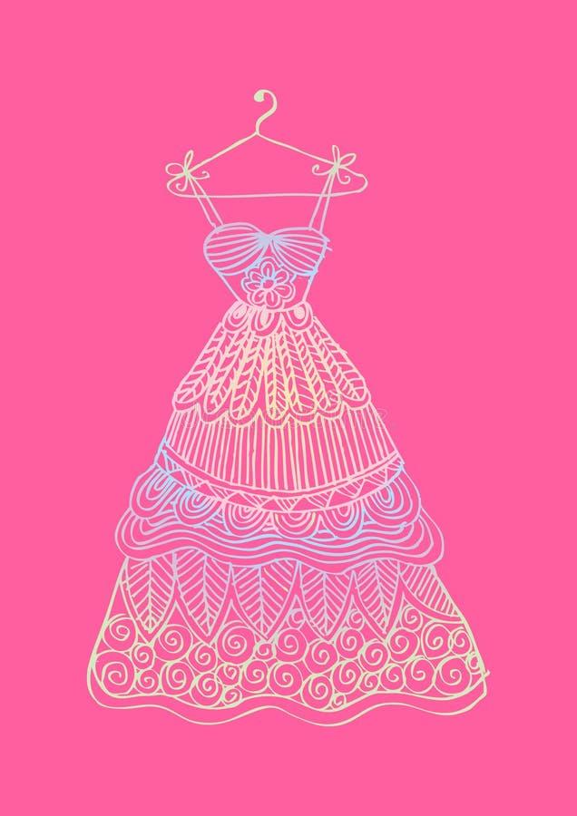małe mod dziewczyny royalty ilustracja