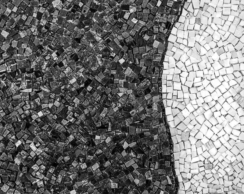 Małe mozaik płytki zamknięte w górę wzoru obraz royalty free