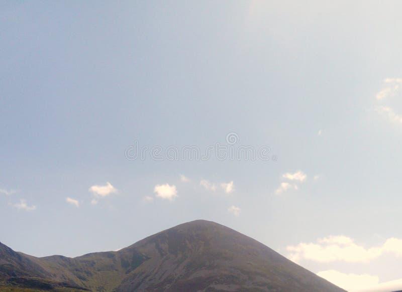Małe puszyste chmury obrazy stock