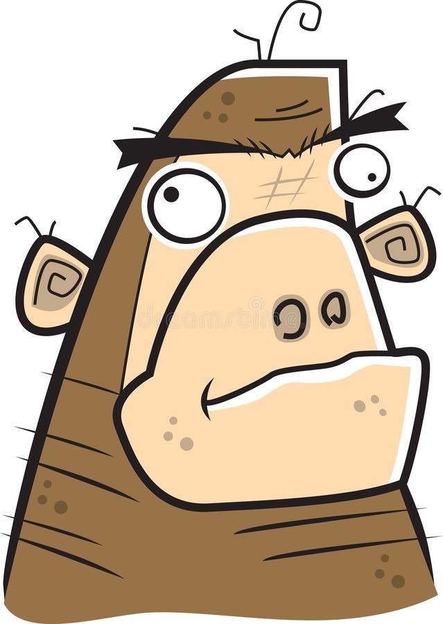 małpa royalty ilustracja