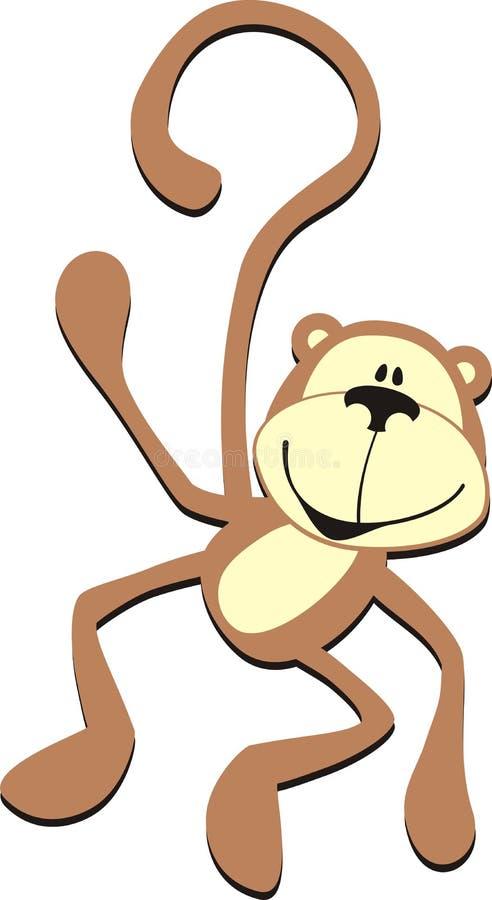 małpy royalty ilustracja