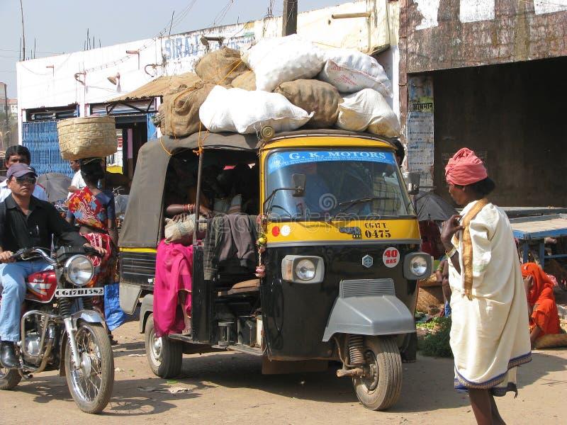 małpy indyjska piaggio wioska zdjęcie stock