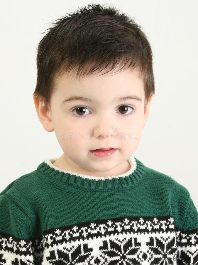 mały śliczny chłopiec obraz stock