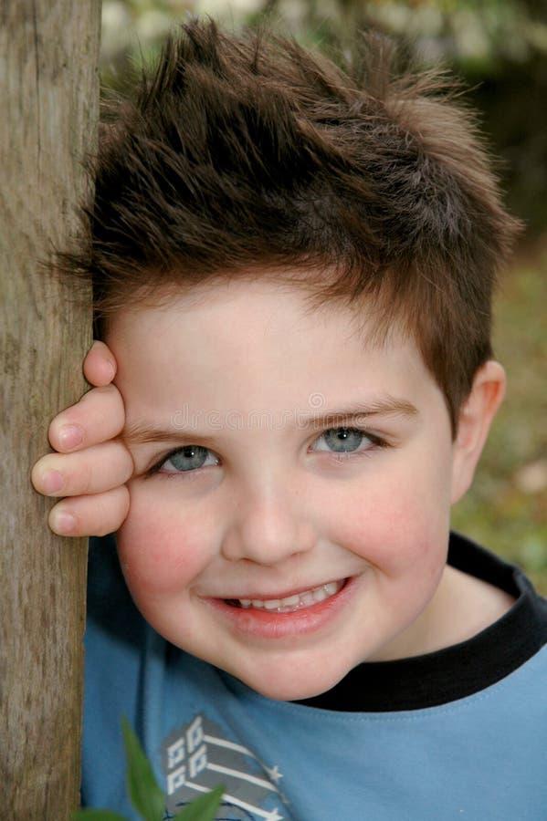 mały śliczny chłopiec fotografia royalty free