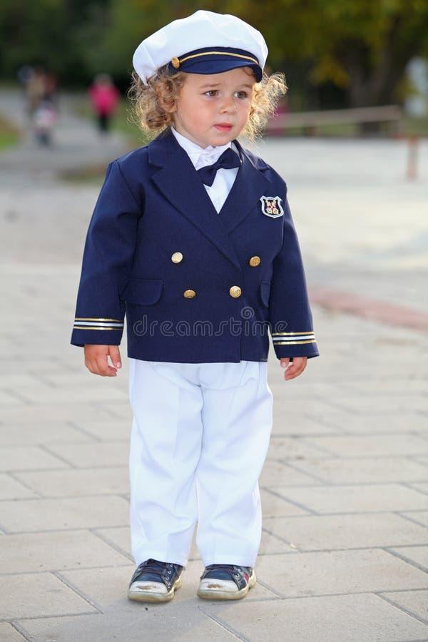 Mały żeglarz obraz royalty free
