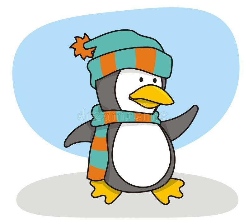 mały 1 pingwin zdjęcia royalty free