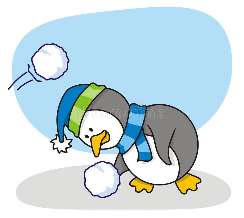 mały 2 pingwin zdjęcia stock