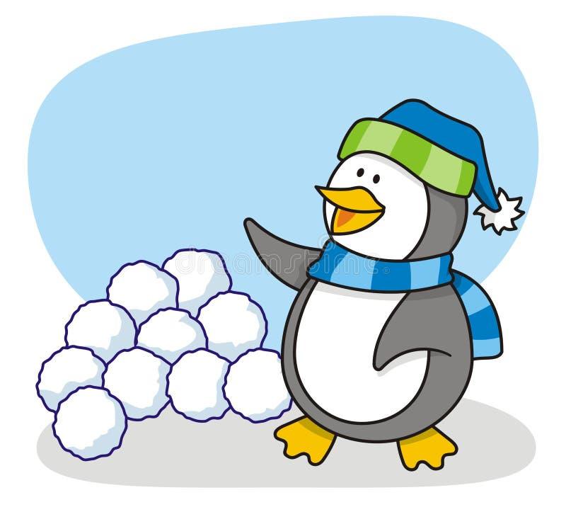 mały 4 pingwin zdjęcia stock