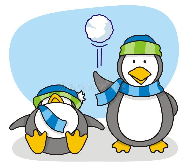 mały 5 pingwin obrazy stock