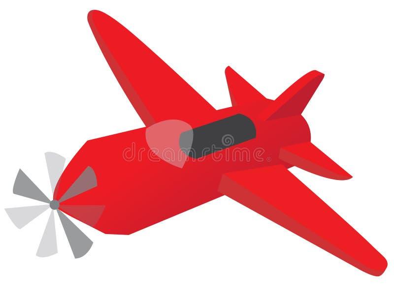 Mały airoplane zdjęcia royalty free