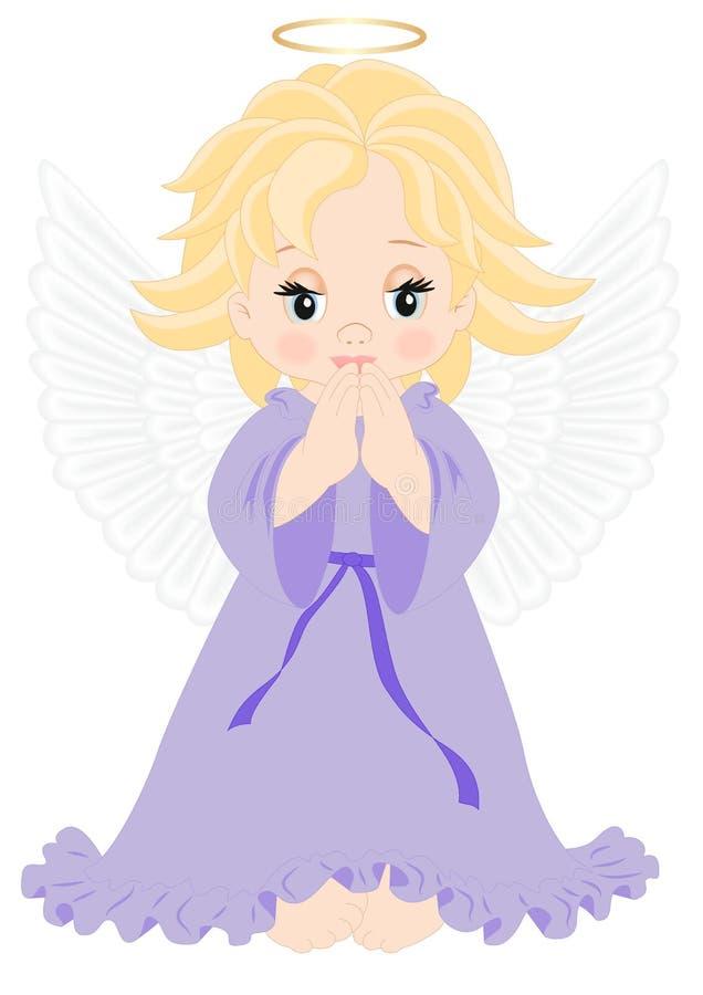 Mały anioł ilustracja wektor
