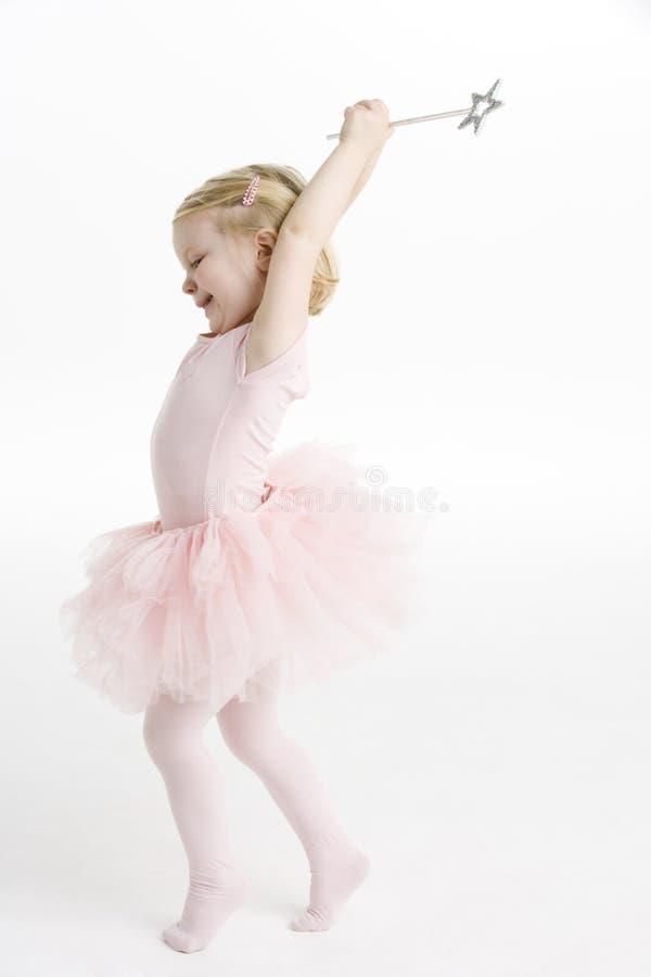 mały balerina taniec zdjęcie royalty free