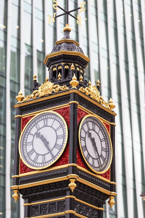 Mały Ben na Wiktoria ulicie, Westminister, Londyn, Zjednoczone Królestwo zdjęcia royalty free
